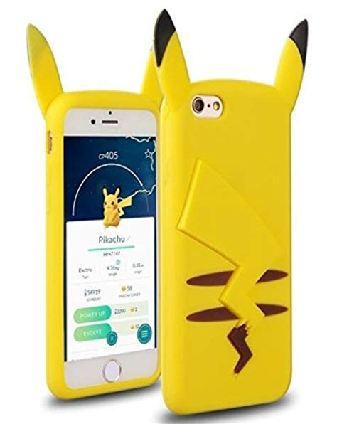 Casing Iphone 66s Softcase Bumper Motif Go Pikachu 05 iphone 5 5s 5c se iphone 6 6s iphone 6 6s plus go soft