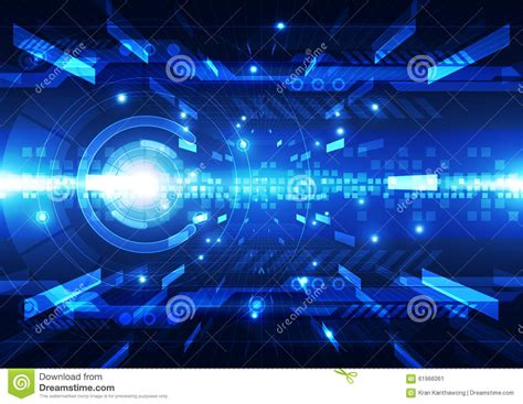 futuristic technology illustration stock images image abstract futuristic digital technology background