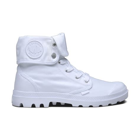 baggy white white by palladium boots