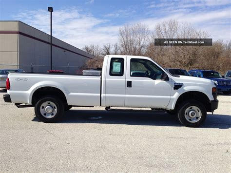 f250 bed ford f250 4x4 crew cab diesel xl autos post
