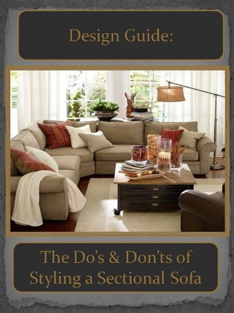 how to style a sofa design guide how to style a sectional sofa confettistyle