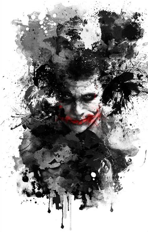 minimalist joker tattoo water color minimalist poster of the joker by benjamin
