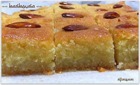 cucina tipica tunisina sfizi vizi ricetta dei basbousa un dolce parla
