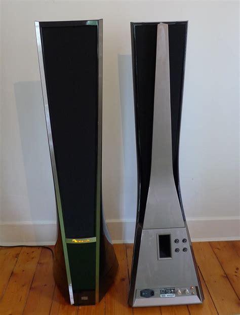sold nakamichi dragon active electrostatic speakers