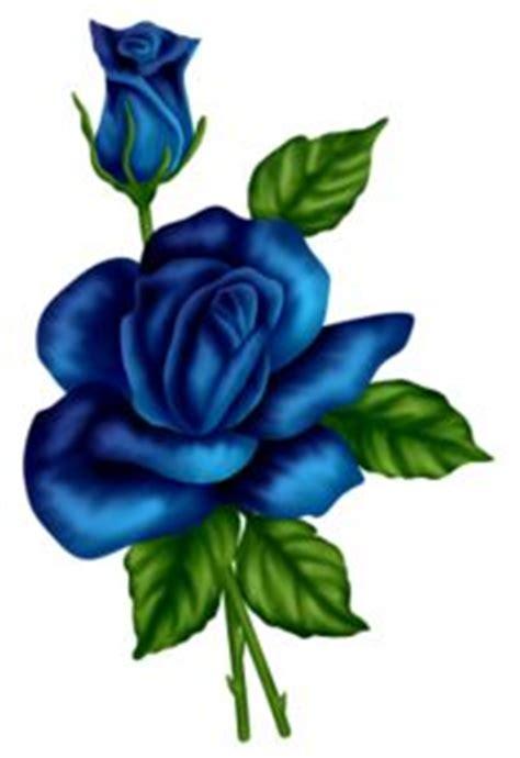 44 blue rose clip art