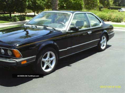 1988 bmw 635csi 1988 bmw 635csi base coupe 2 door 3 5l