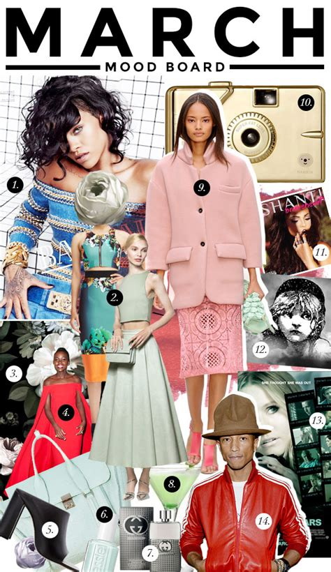 creational pattern adalah march mood board 14 things that are inspiring us this