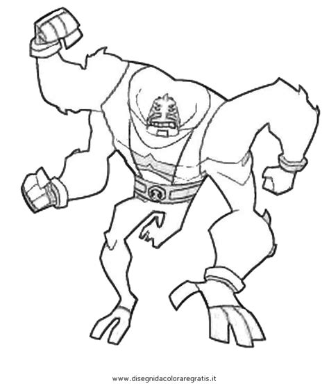Free Ben Ten Omniverce Coloring Pages Ben 10 Omniverse Coloring Pages
