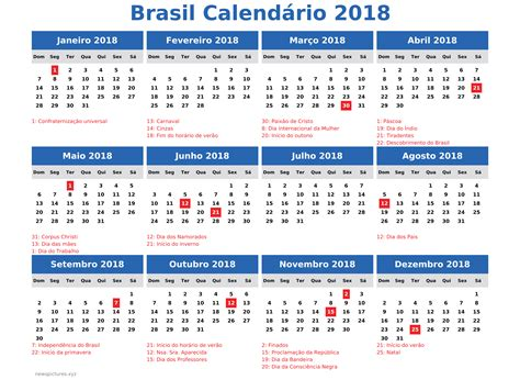 Calendario De 2018 Completo Calend 225 2018 Modelos Para Imprimir Ligeirando