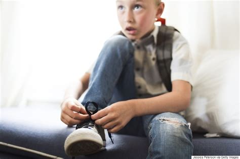 kid tying shoes unapologetic parent how to help with school anxiety