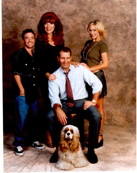 Backyard Wedding Cast And Crew Married With Children Mm Cast Ed O Neill 8x10 Color Tv