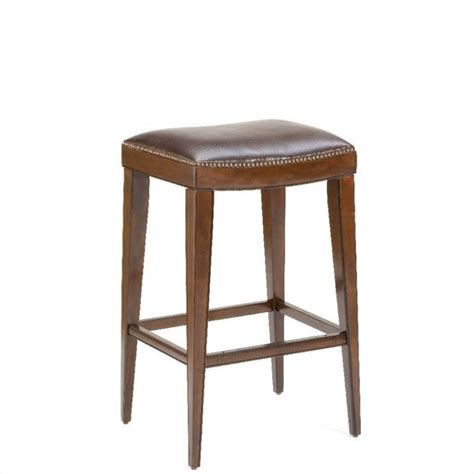 Cherry Bar Stools With Backs by Riverton 26 Quot Backless Counter Stool In Rustic Cherry
