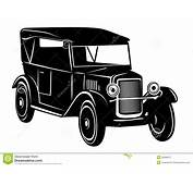Carro Do Vintage De Anos Dos 20 Fotografia Stock