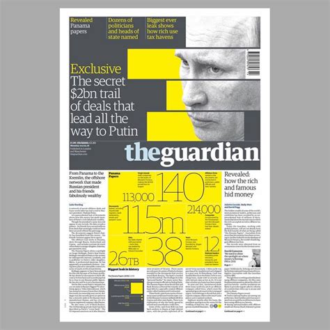 layout of guardian newspaper blog the guardian the power of the front page 215 garc 237 a media