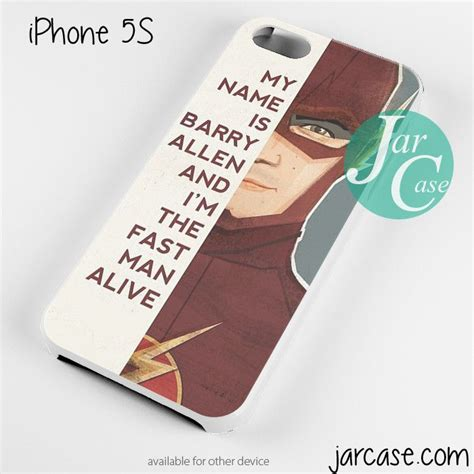 The Flash Iphone 5c the flash quotes phone for iphone 4 4s 5 5c 5s 6 6