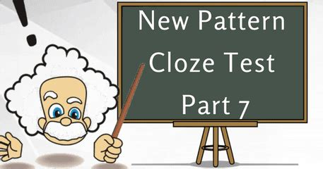 new pattern bank exam new pattern cloze test part 7 bank exams today