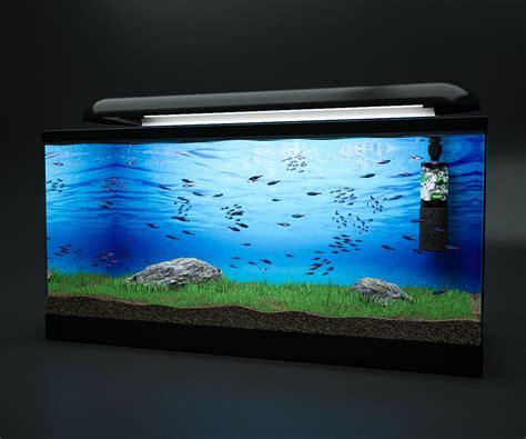 Aquarium Fish Model Cumi 13 Liter 3d model fish tank