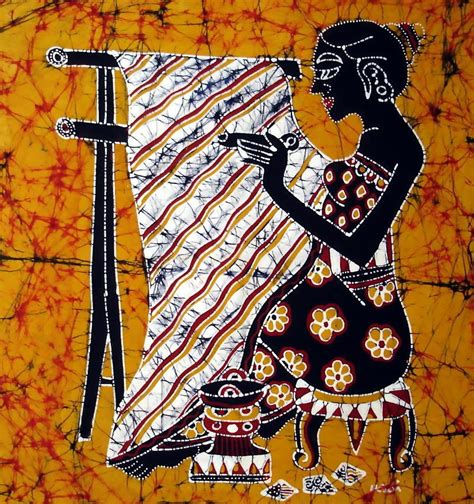 batik pattern generator indonesia ethnic decorative wall hanging folk art batik