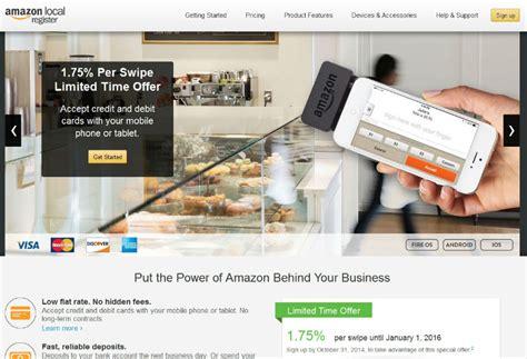 amazon local amazon unveils new credit card reader