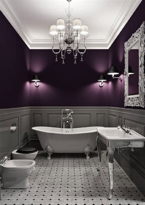eggplant bathroom pin by kristin wallace on for the home pinterest