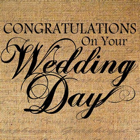 Wedding Congratulation Text by Congratulations Wedding Day Text Digital Collage By