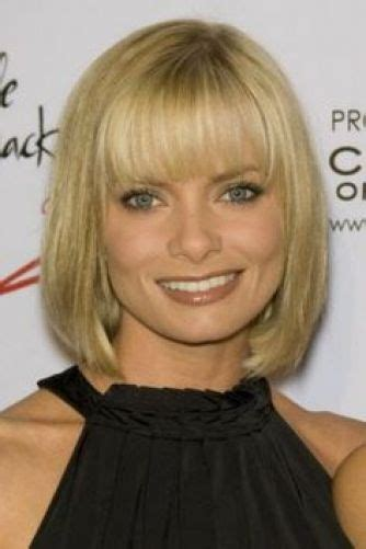 short hairstylea for fuller square jawline 10 of our top picks for jaime pressly hairstyles blonde