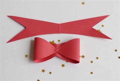 how to make paper bows free template tutorial