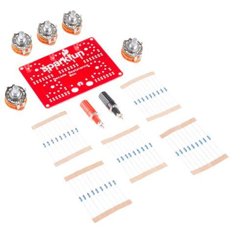 decade resistor box kit sparkfun decade resistance box kit 13006 sparkfun electronics