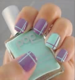 Purple nail designs the color of fantasy