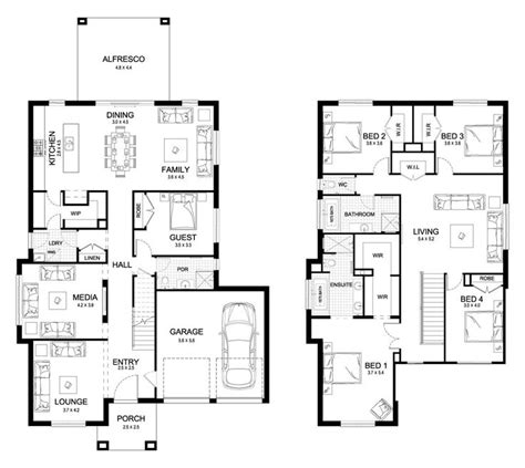 great house plans 25 best ideas about storey house plans on