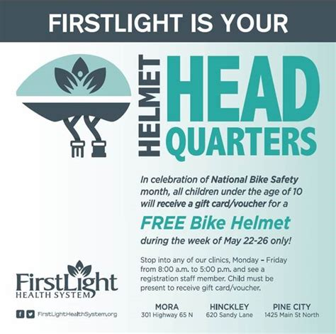Light Health System by Firstlight Is Your Helmet Headquarters Firstlight