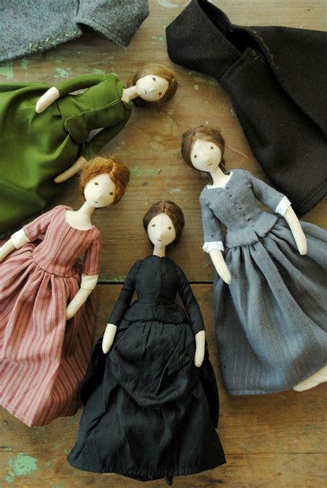 Handmade Cloth Dolls Patterns - willowynn doll available from www willowynn