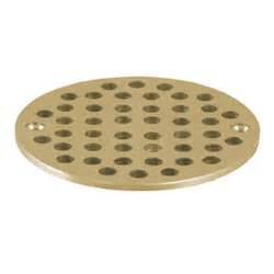 Floor Drain Cover by 4 5 8 Quot Round Brass Floor Drain Strainer At Discount 11483