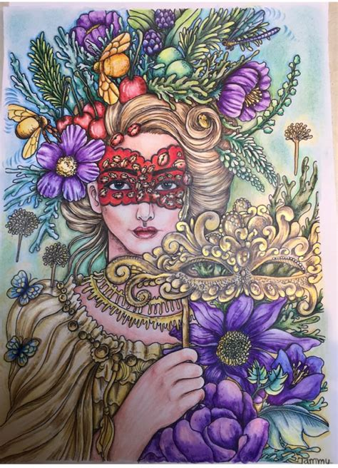 Maskara My golden mask book maskara by mardel rubio tammy coloring