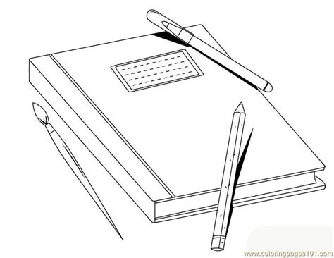 Free Coloring Pages Of Bookcase With Books Shelf Coloring Page