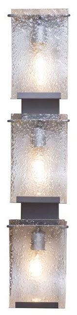 Vertical Vanity Lights Three Light Vertical Bath Sconce Rn Contemporary Bathroom Vanity Lighting By 2modern