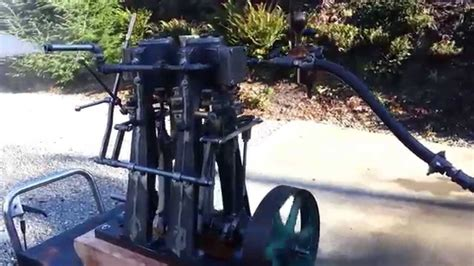 steam engine boat for sale steam engine twin cylinder with reverse boat boiler sold