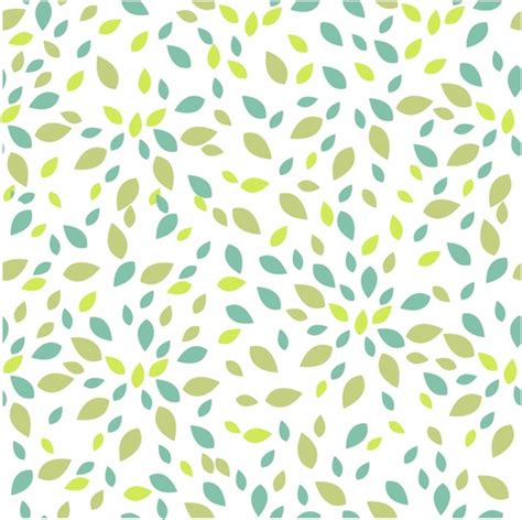 free patterns summer leaves texture seamless pattern free vector in
