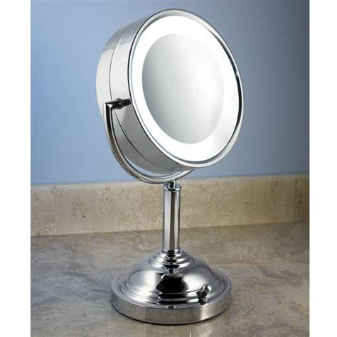 Daylight Vanity Mirror the daylight vanity mirror hammacher schlemmer