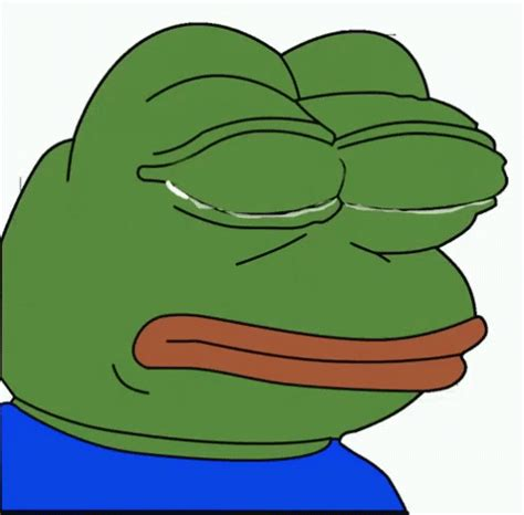 Crying Meme Gif - crying pepe gif crying pepe cry discover share gifs