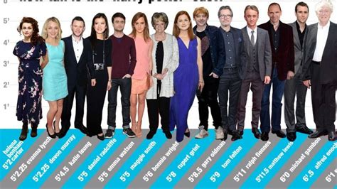 actor gimli height harry potter height chart who s the tallest actor mtv