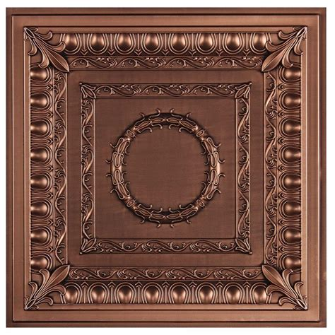 decorative ceiling tiles home depot udecor royal 2 ft x 2 ft lay in or glue up ceiling tile