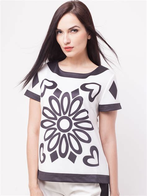 Monochrome Tops buy bysi monochrome top for s black white
