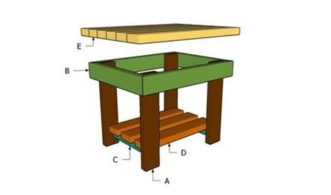 patio end table plans free outdoor plans di