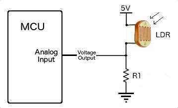 photoresistor simple circuit hookup wire up arduino to light dependent photoresistor ldr