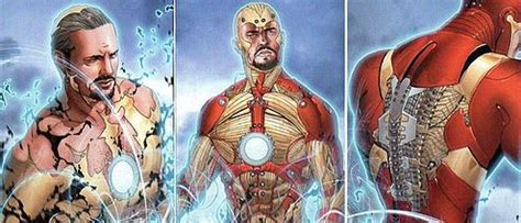 Setrika Nanotec iron tony stark cronolog 237 a comiczine