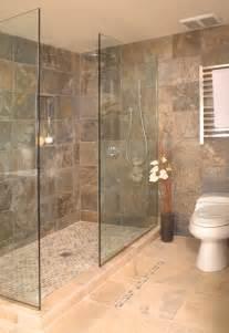 friendly bathroom designs ideas open shower design open shower with frameless shower enclosurejpgjpg