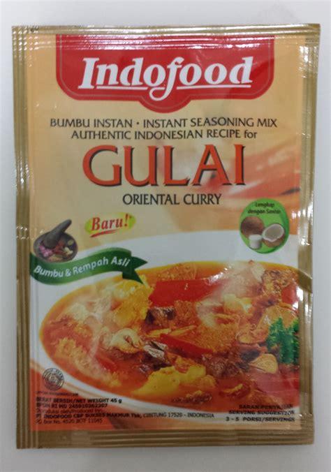 Indofood Bumbu Instan Gulai 45g indofood bumbu special gulai 45 gram instant seasoning mix