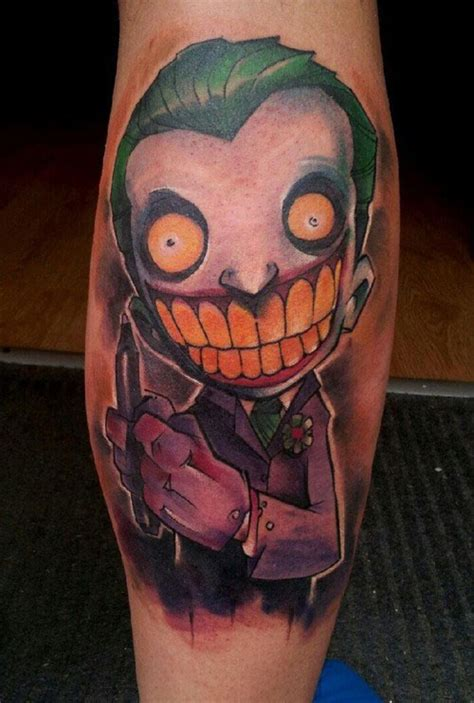 joker tattoos for men 25 mind blowing leg tattoos for creativefan