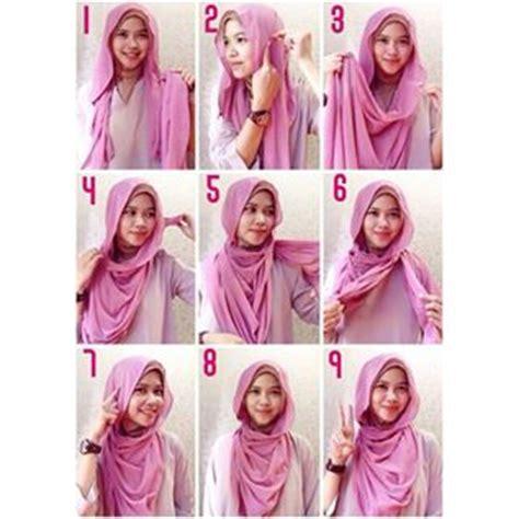 tutorial hijab simple 2016 kumpulan tutorial hijab kalung simple 2016